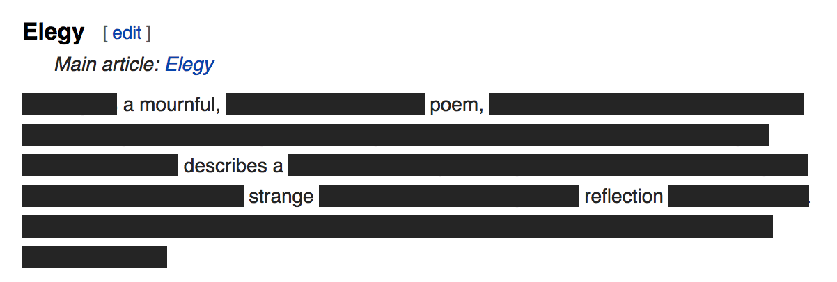 Blackout Poetry Generator Automatically generate lyrics using keywords of your choice. blackout poetry generator